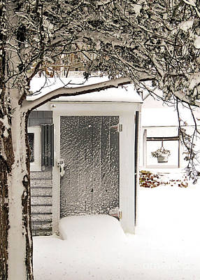 Photograph - Snowcovered Scene by Janice Drew