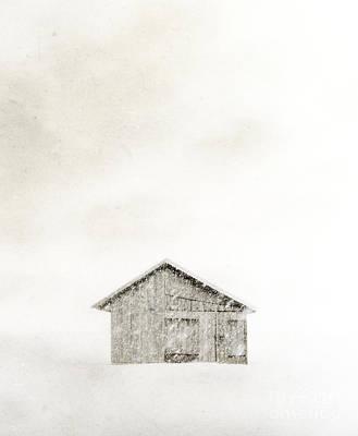 Photograph - Snowstorm by Edward Fielding