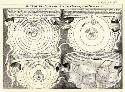 Solar System, Historical Artwork Print by Detlev van Ravenswaay