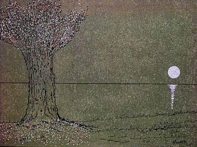 Plum Drawing - Something To Smile About..... by Adolfo hector Penas alvarado