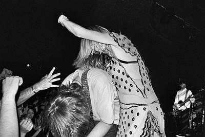 Photograph - Sonic Youth by Gary Smith