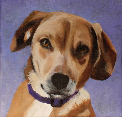 Painting - Sophie by Carol Russell