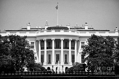 Whitehouse Wall Art - Photograph - south facade of the white house Washington DC USA by Joe Fox