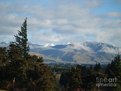 Photograph - South Island New Zealand by Joyce Woodhouse