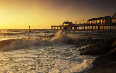 Photograph - Southwold Pier by Ian Merton