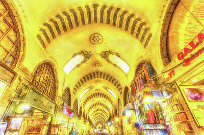 Photograph - Spice Bazaar Istanbul Art by David Pyatt
