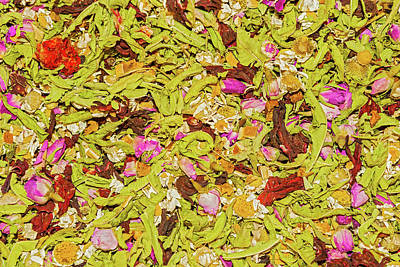 Western Art - Spices at herb bazaar in Istanbul. by Marek Poplawski