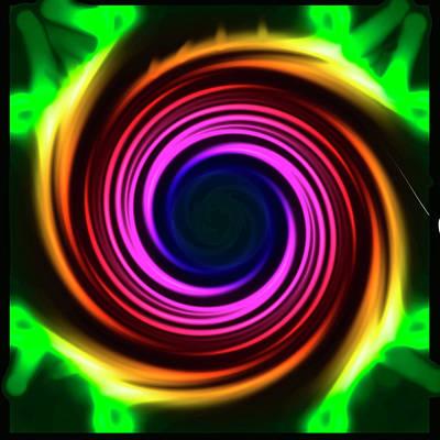 Mixed Media - Spiral by Jesus Nicolas Castanon