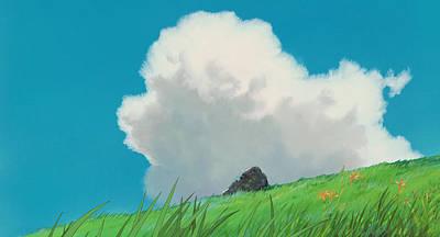 Cloud Digital Art - Spirited Away by Super Lovely
