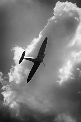 Photograph - Spitfire by Ian Merton