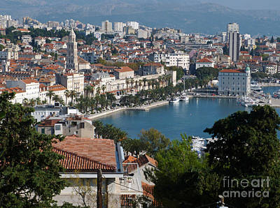 Photograph - Split - Croatia by Phil Banks