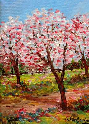 Painting - Spring Beauty  by Constantinos Charalampopoulos