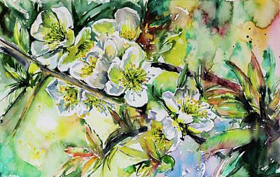 Painting - Spring Flowers by Kovacs Anna Brigitta