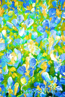 Painting - Spring Flowers by Oksana Semenchenko