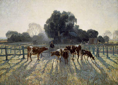 Painting - Spring Frost by Elioth Gruner