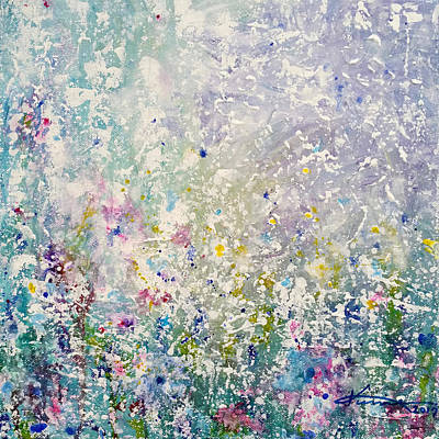 Painting - Spring Garden by Kume Bryant