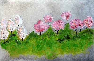 Painting - Spring by Haleh Mahbod