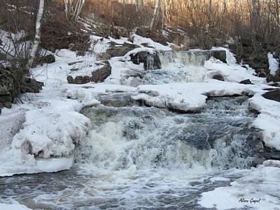Duluth Photograph - Spring Thaw by Alison Gimpel