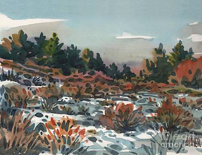 Spring Thaw Original by Donald Maier