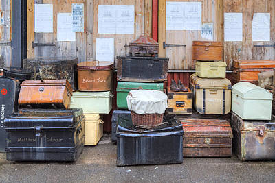 Luggage Photograph - Ss Great Britain - Bristol by Joana Kruse