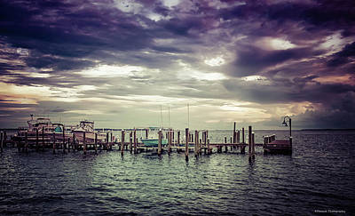 Photograph - St. Andrews Marina  by Debra Forand