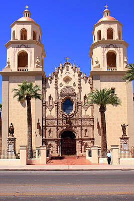 Photograph - St. Augustine Church Tucson by Chris Smith