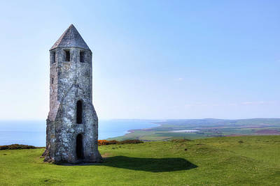 St. Catherine's Oratory -  Isle Of Wight, Art Print