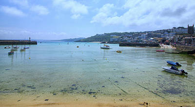 St Ives Wall Art - Photograph - St Ives Cornwall by Martin Newman