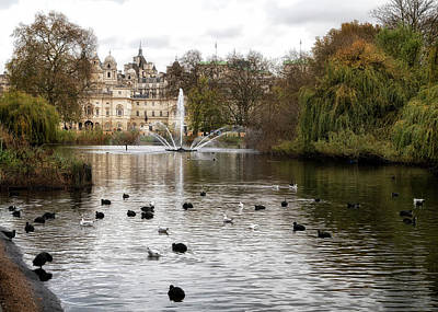 Photograph - St James Park by Shirley Mitchell