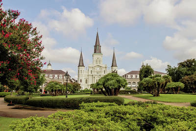 Pellegrin Photograph - St. Louis Cathedral by Scott Pellegrin