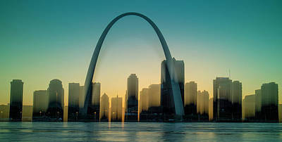 Photograph - St Louis Skyline by Garry McMichael