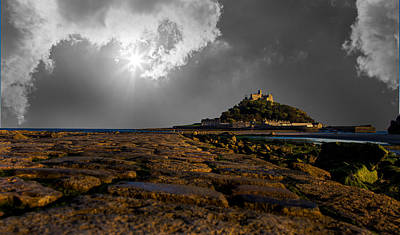 Cornish Wall Art - Photograph - St Michaels Mount by Martin Newman