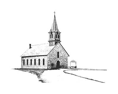 Photograph - St. Olaf Lutheran Church by David and Carol Kelly