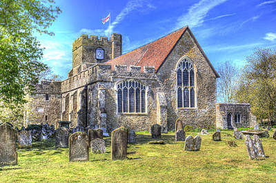 Kitchen Spices And Herbs - St Peter And St Paul Church Headcorn Kent by David Pyatt