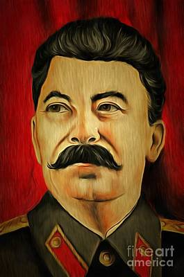 Photograph - Stalin by Michal Boubin