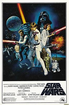 Star Alliance Digital Art - Star Wars by Fine Artist