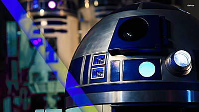 Galactic Mixed Media - Star Wars R2-d2 Collection by Marvin Blaine