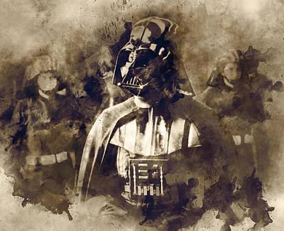 Star Wars.darth Vader. Art Print