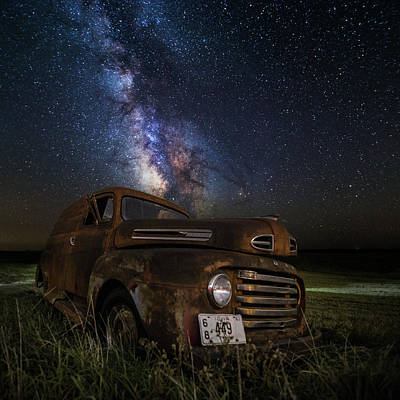 Photograph - Stardust And Rust by Aaron J Groen