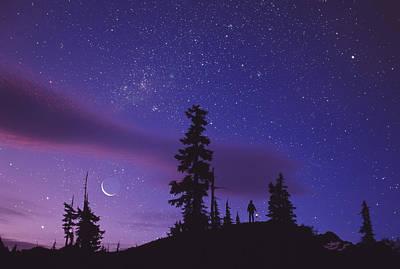 Amateur Astronomy Photograph - Starry Sky by David Nunuk
