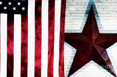 Stars And Stripes Art Print by Doug Sturgess
