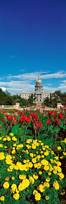 State Capitol Of Colorado, Denver Art Print by Panoramic Images