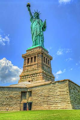 Goddess Of Liberty Photograph - Statue Of Liberty by Craig Fildes