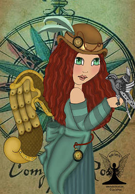 Steampunk Royalty-Free and Rights-Managed Images - Steampunk by Lee DePriest