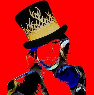 Steven Tyler Digital Art - Steven Tyler Art by Love Art