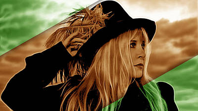 Stevie Nicks Mixed Media - Stevie Nicks Collection by Marvin Blaine
