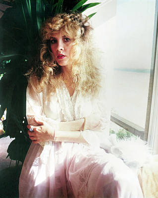 Stevie Nicks Photograph - Stevie Nicks 1981 No.3 by Chris Walter