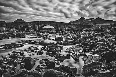 Photograph - Stone Bridge In Scotland by Pixabay