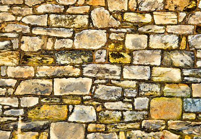 Photograph - Stone Puzzle by JAMART Photography