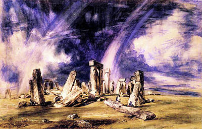 Travel Rights Managed Images - Stonehenge  Royalty-Free Image by John Constable